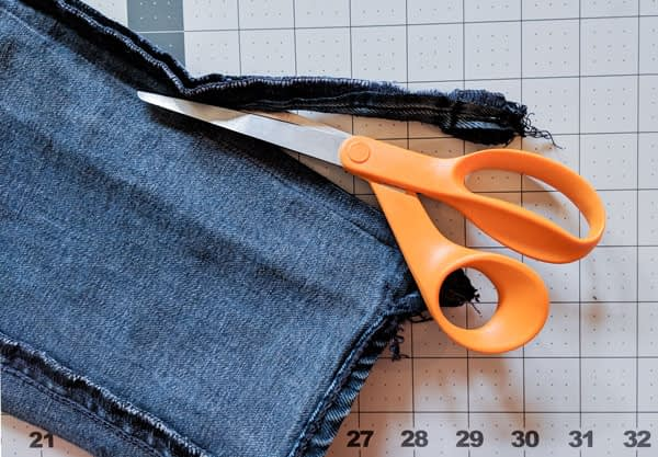 Removing Extra Seam Allowance