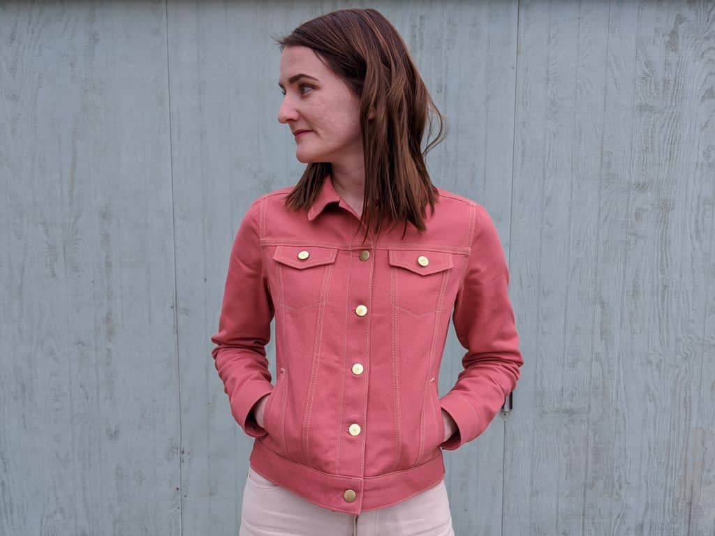 Pink Hampton Jean Jacket