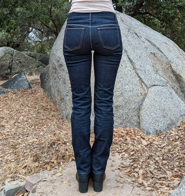 Ginger Jeans Back