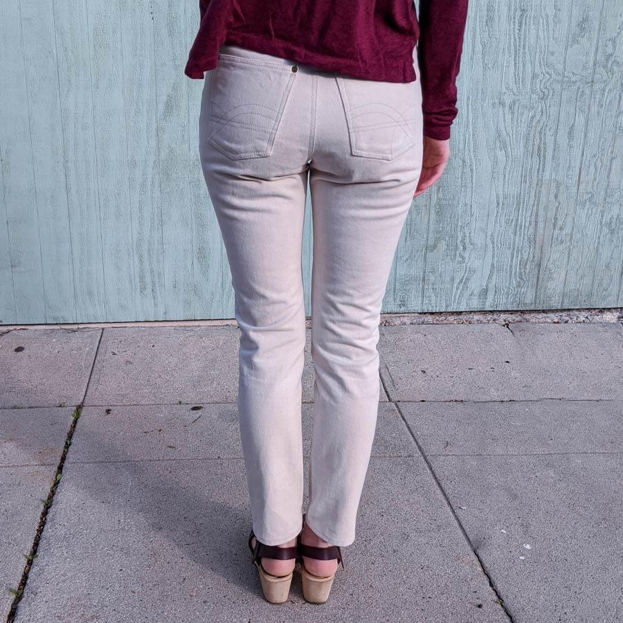 Dawn jeans - back side.