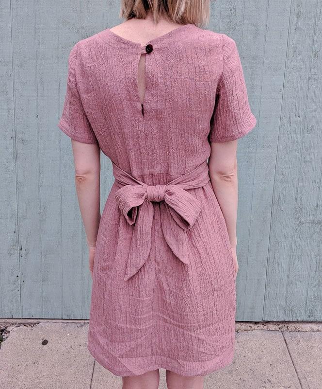 Meridian Dress Back