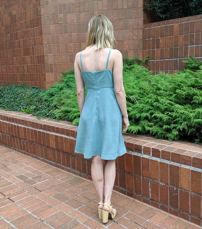 Acton Dress Back