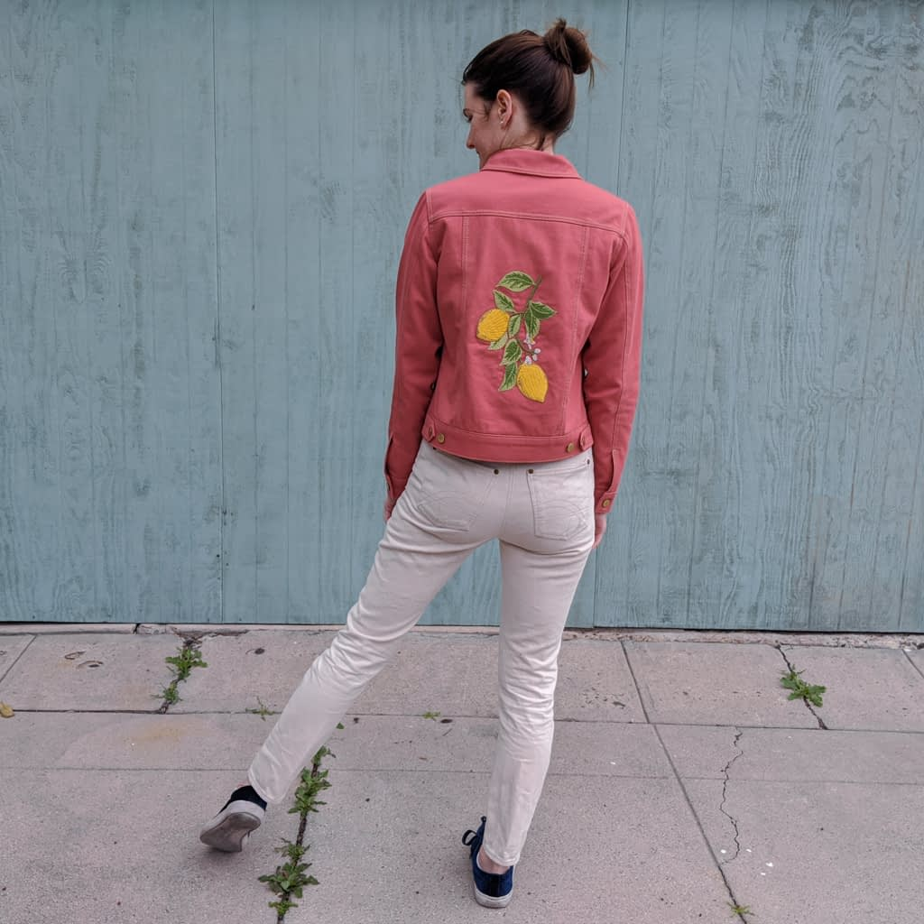 Embroidered Hampton Jean Jacket