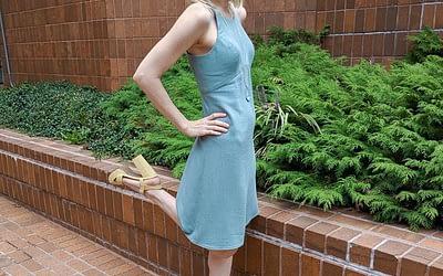 the Acton dress