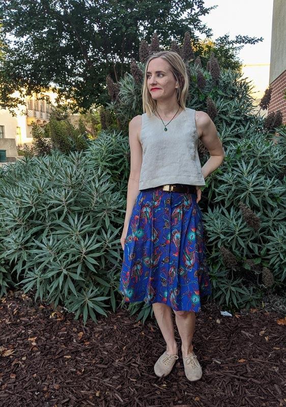 Ashton Top M7906 Skirt